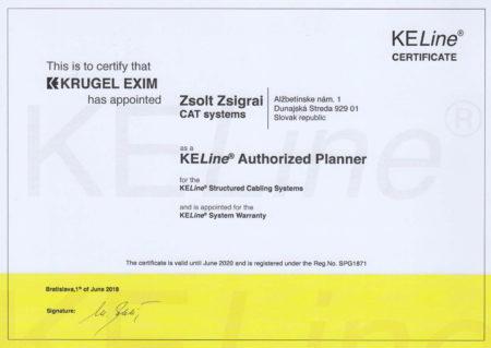 Krugel Certifikat Zszs