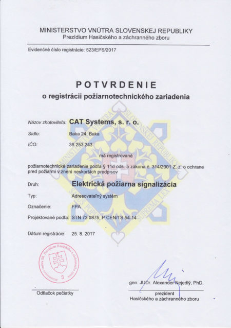 Potvrd O Reg Pozarnotechn